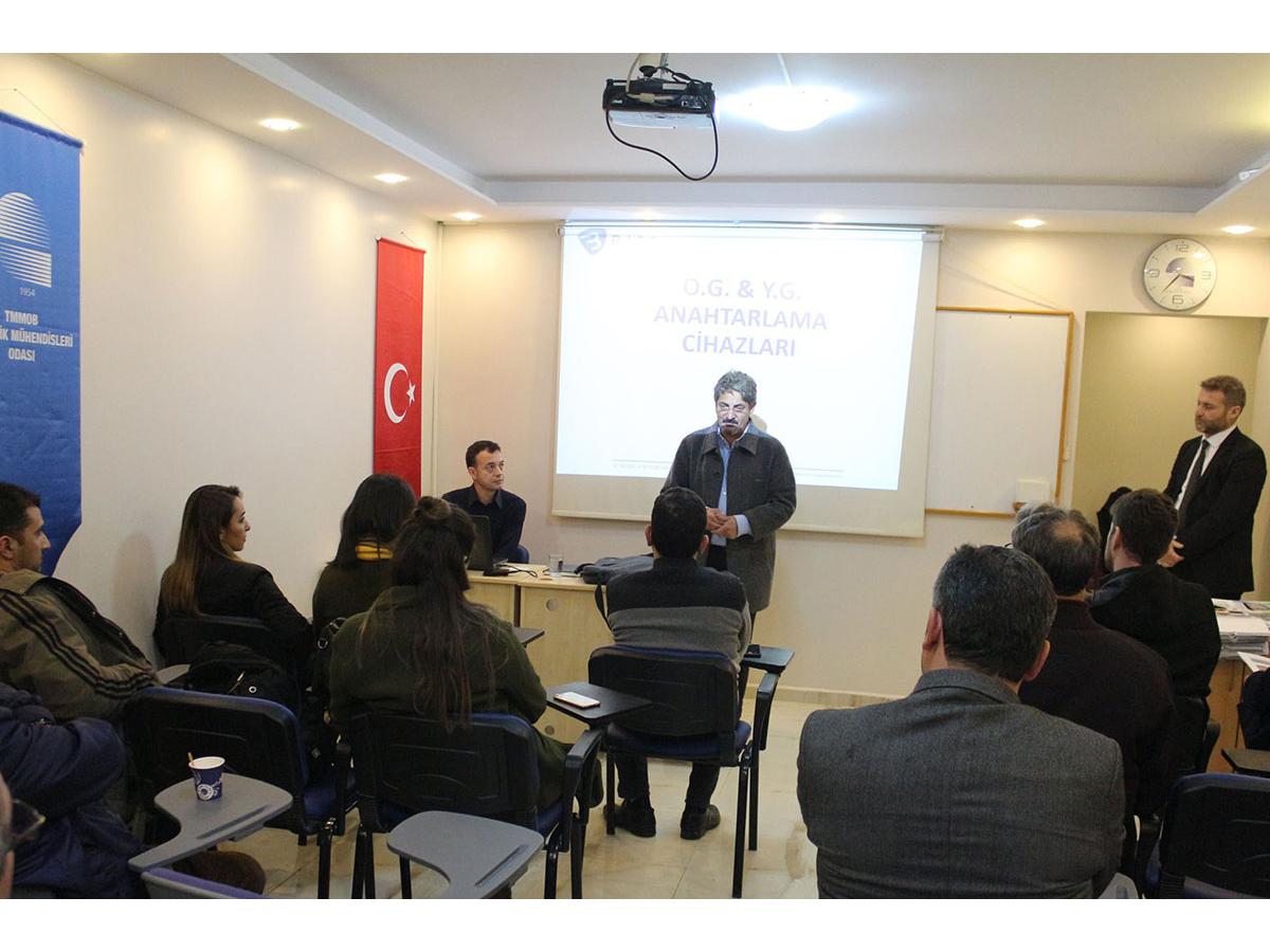 EMO Adana Şubesi Ziyaretimiz
